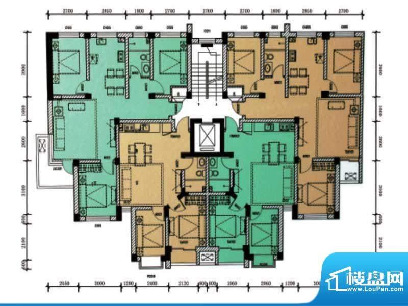 滨海公寓滨海户型3 面积:0.00m平米