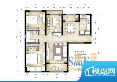 滨海公寓滨海户型2 面积:0.00m平米