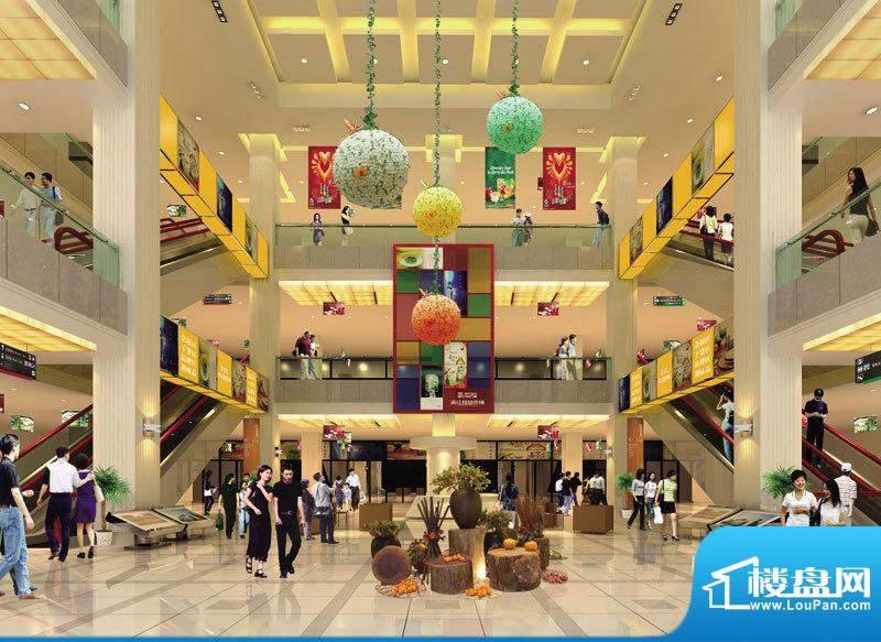 盘锦中国食品城食品市场中厅效果标准