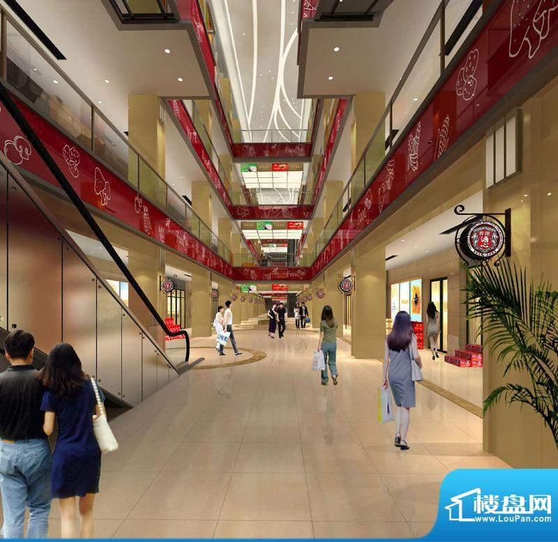盘锦中国食品城盘锦中国食品城内街效果