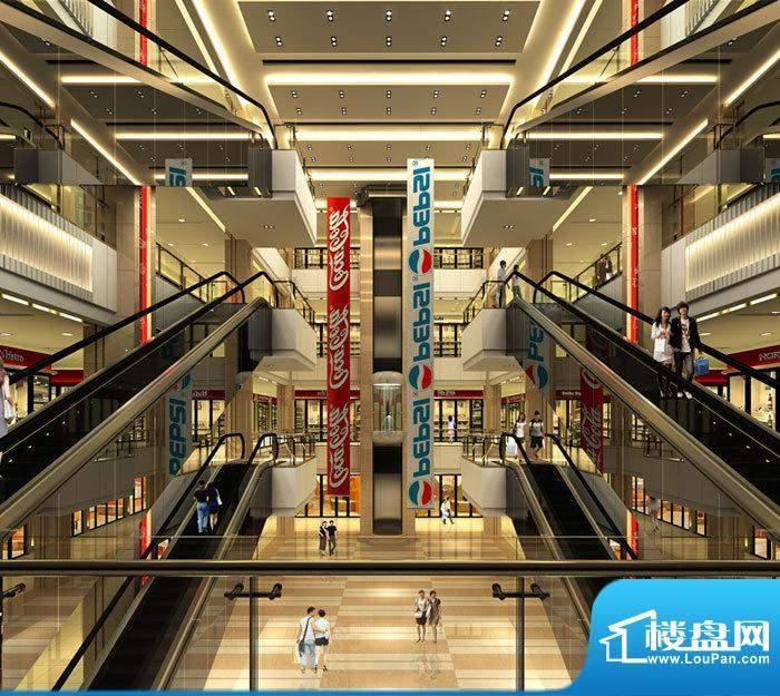 盘锦中国食品城中空效果图一
