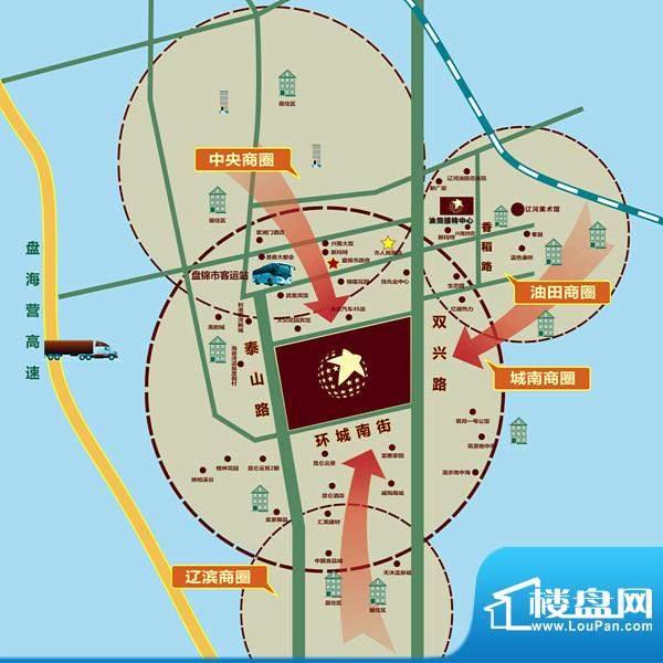 红星国际广场区位图