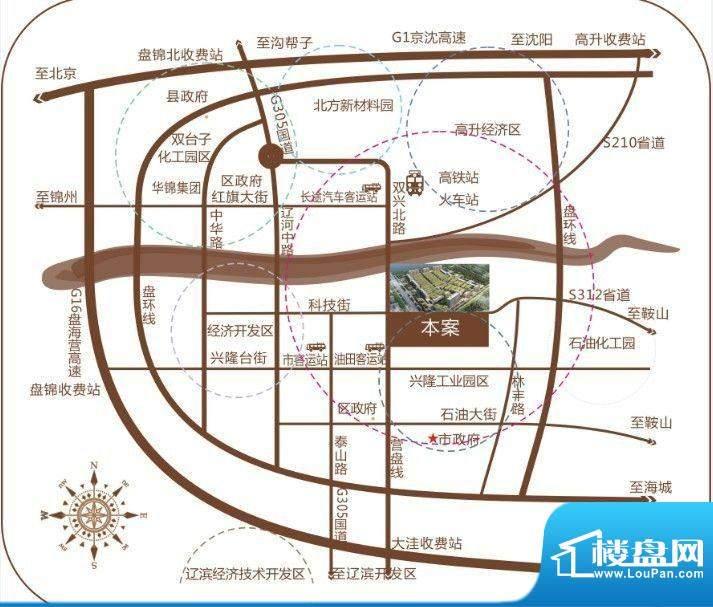 国际五金机电汽配城交通图