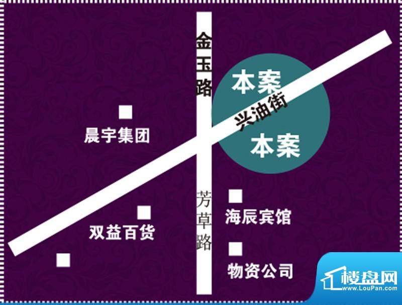 海园壹品交通图