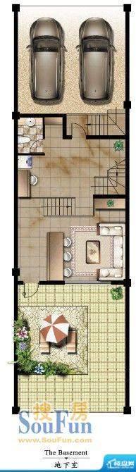 山河源墅联排 地下室面积:0.00m平米