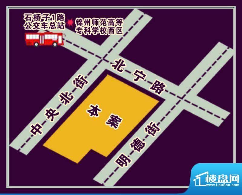 金城·丽都交通图