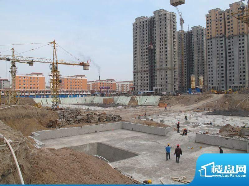 金城·丽都工程进度(2012-6)