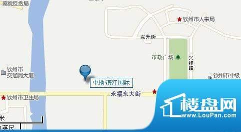 中地·滨江国际交通图