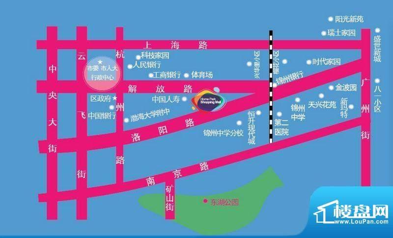 天兴家乐汇购物广场交通图