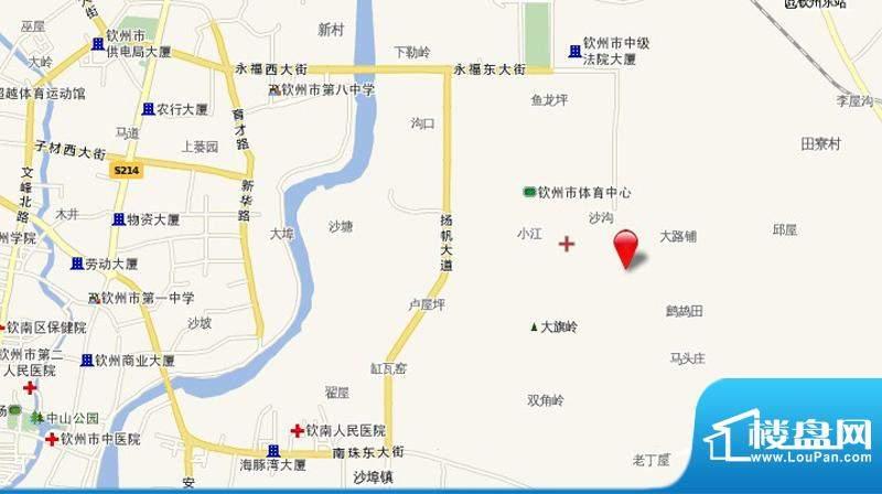 皇庭·御珑湾交通图