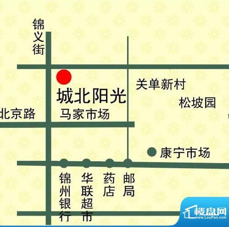 城北阳光五期交通图