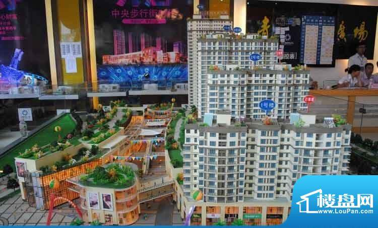 青城中央广场交通图
