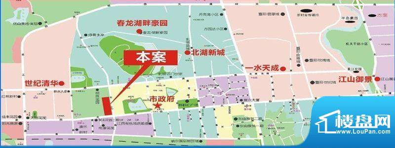 红海名仕公馆交通图