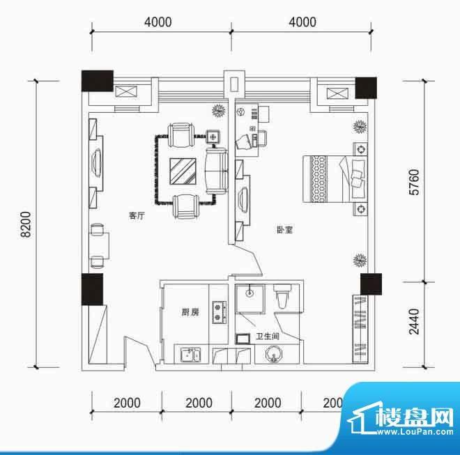 恒基·金湾广场户型面积:0.00m平米