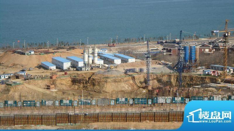 锦绣蓝湾工程进度(2012-4)