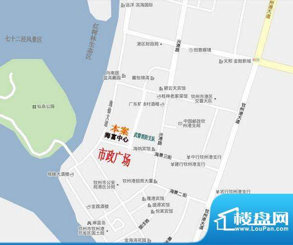 海富中心交通图