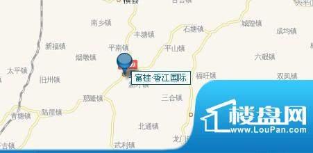 富桂·香江国际交通图