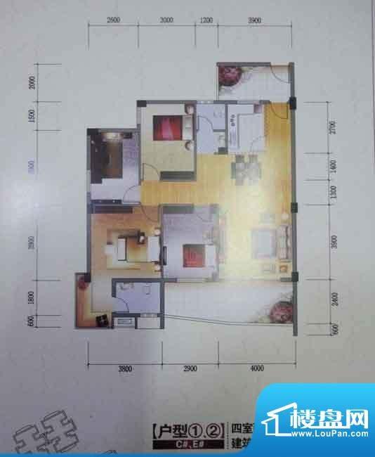 富桂·香江国际4房2面积:0.00m平米