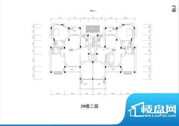 暨阳上河园2#楼二层面积:0.00m平米