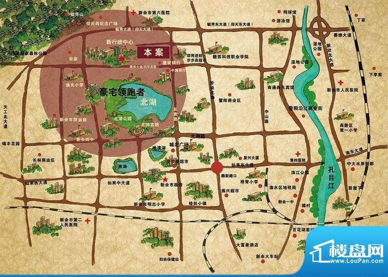 春龙金色城市交通图