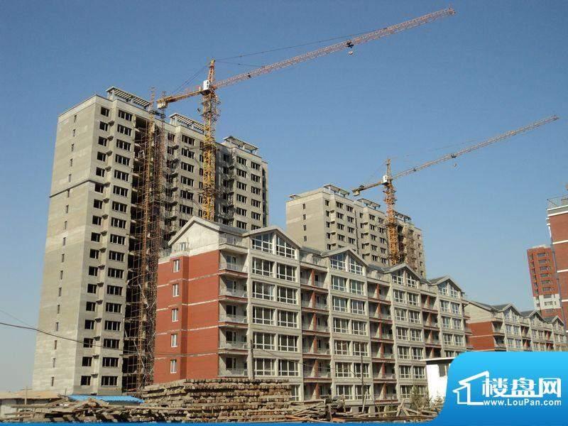 龙脉海景花园工程进度(2012-4)