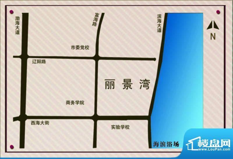 金城丽景湾三期交通图