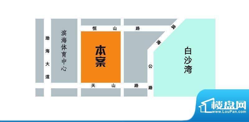 华纺·海岸城交通图