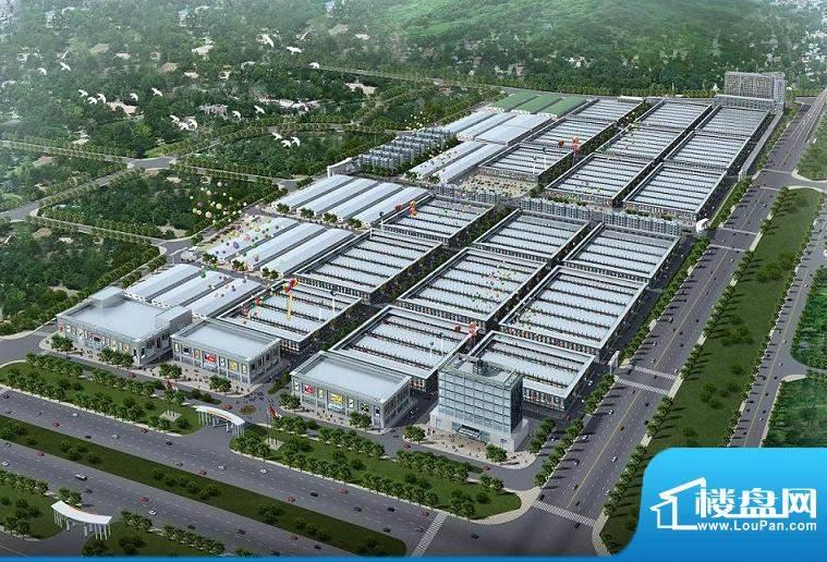 赣西万商红国际商贸物流中心北鸟瞰图