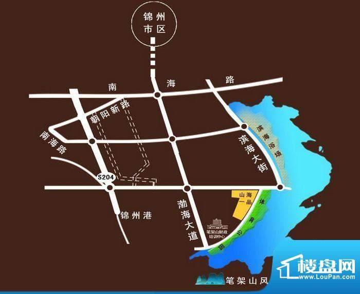 金城·山海一品交通图