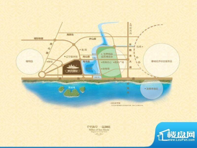 澳海澜庭交通图