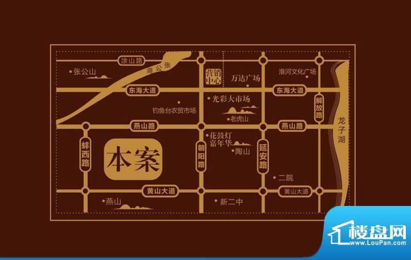 晨阳滟澜山交通图