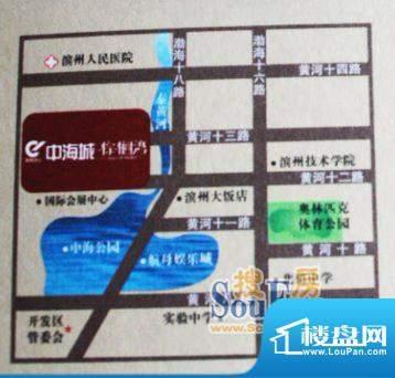 中海城·棕榈湾交通图