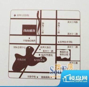 中海城·渤海城邦交通图