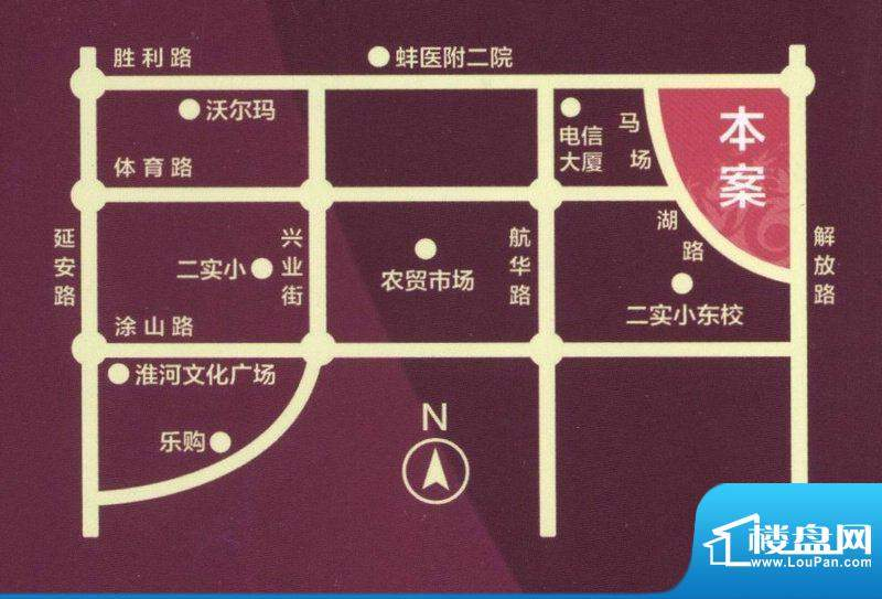 和谐家园交通图