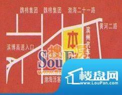 站前·财富广场交通图