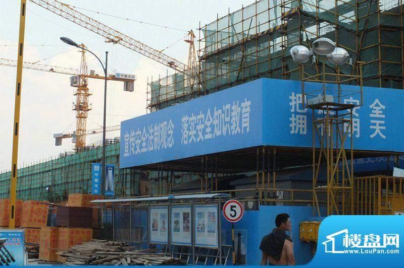 蚌埠万达广场工程进度(2012-8)