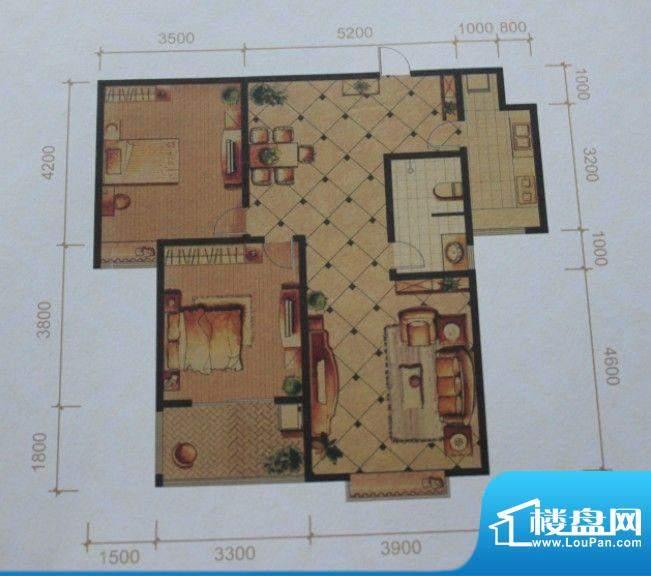 名士豪庭户型图2面积:0.00m平米