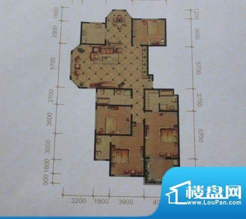 名士豪庭户型图3面积:0.00m平米