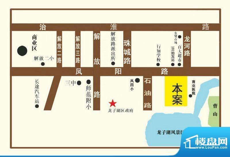 京铭国际交通区位图