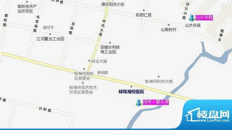 迎河·碧水湾交通图