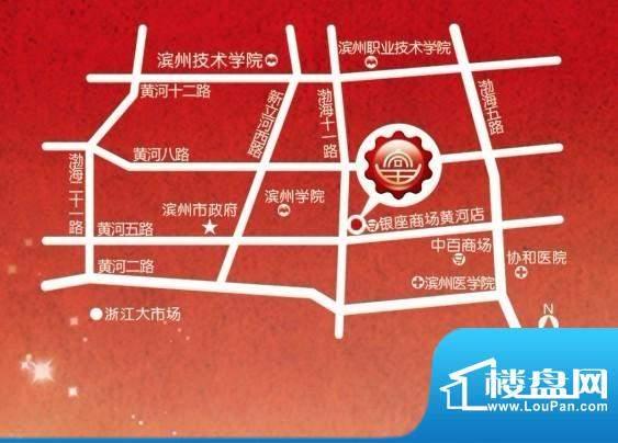 富安国际广场交通图