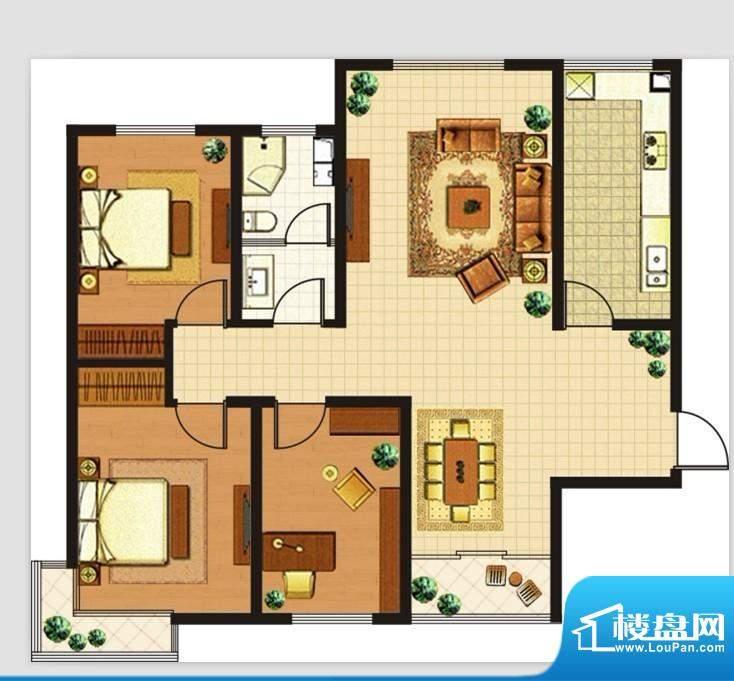 富安国际广场户型图面积:0.00m平米
