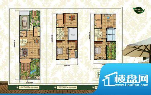 香溪翠庭户型图8 面积:0.00m平米