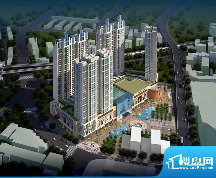 汇金中央水城实景图