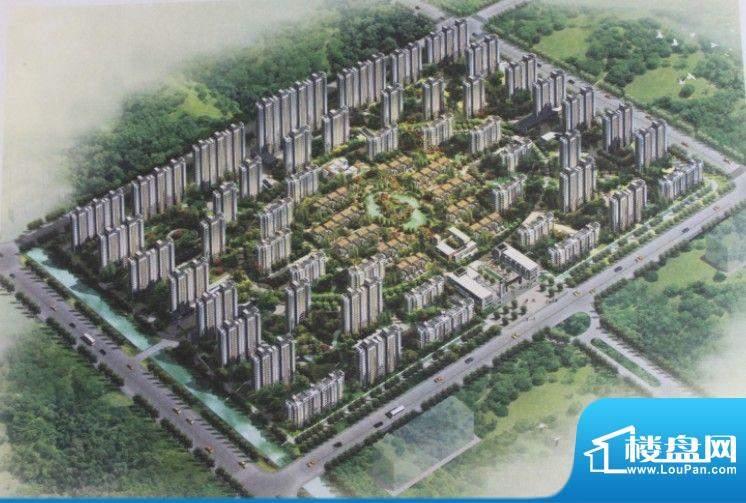 晔基·花园新城交通图