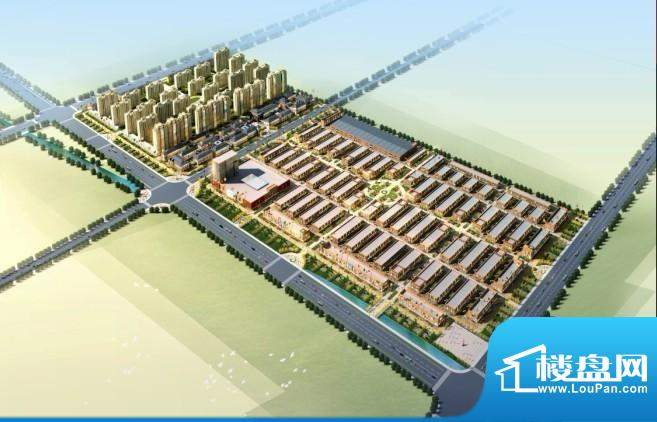 滨州国际五金建材城实景图
