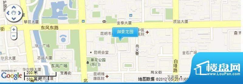 御景龙园交通图