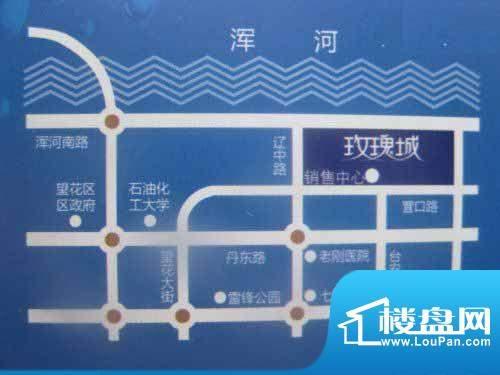 丰远·玫瑰城尚品交通图