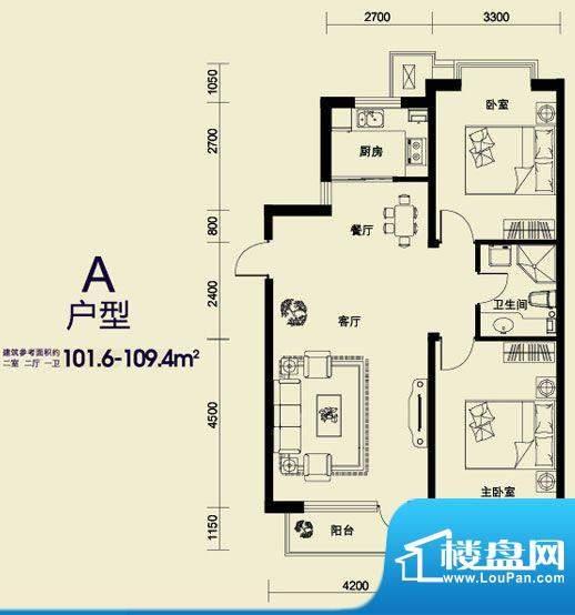 丰远·玫瑰城尚品20面积:0.00平米