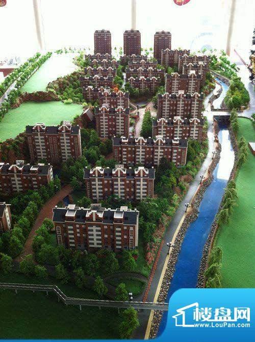 格林小镇三期沙盘实景图201201